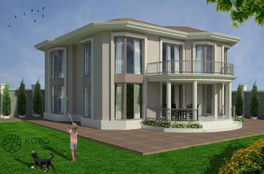 Двуетажна къща