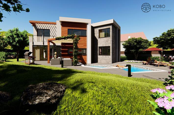 Еднофамилна жилищна сграда с. Близнаци