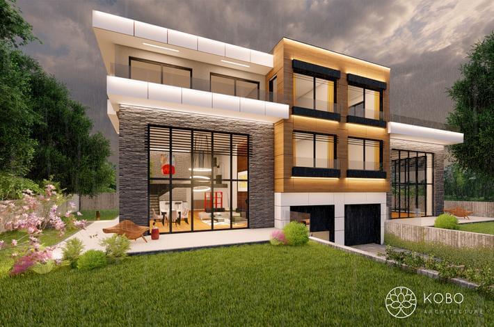 Екстериорен дизайн на съществуваща жилищна сграда гр.Варна