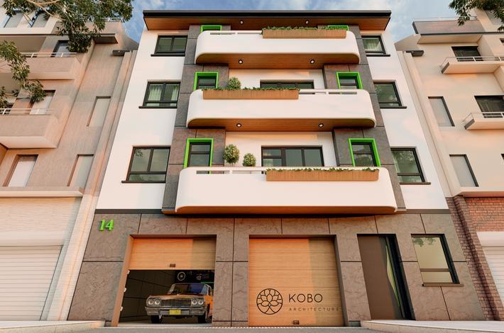 Многофамилна жилищна сграда  гр. Варна