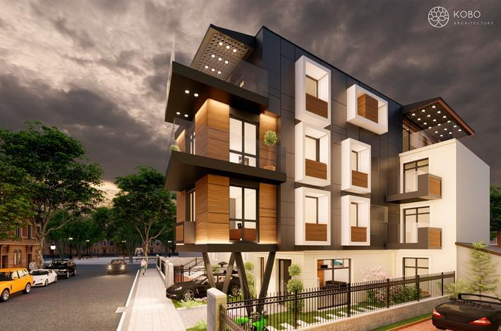 Многофамилна жилищна сграда в Гръцката махала, гр. Варна